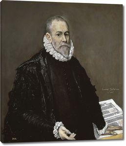 Эль Греко. Портрет врача