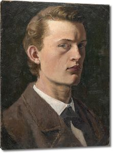 Эдвард Мунк. Автопортрет_1882