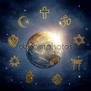 Земля и религиозные символы