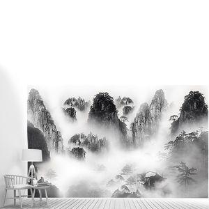 Домик в туманных скалах
