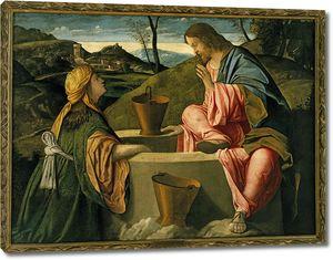 Винченцо Катена. Христос и самарянка