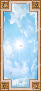 Небо в прямоугольнике