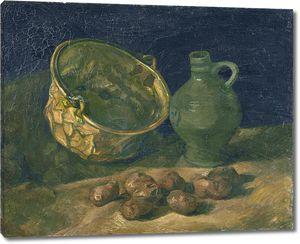 Ван Гог. Натюрморт с латунным котелком и кувшином