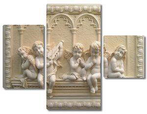Милые ангелочки 3D