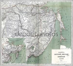 Старая карта России