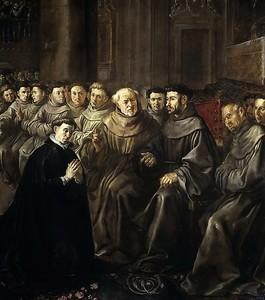 Франсиско Эррера Эль Мосо. Св. Бонавентура и Франциск