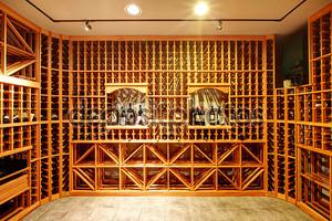 домашний винный погреб дизайн идея