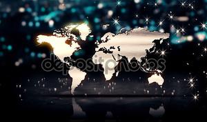 мировой карте Серебряный город света