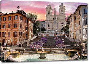 Площадь Испании в Риме