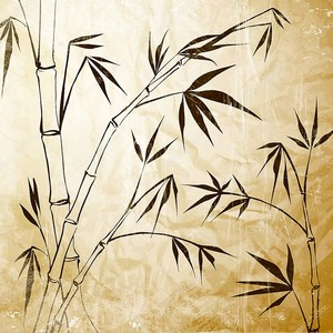 бамбуковая живопись