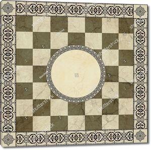 Шахматный узор