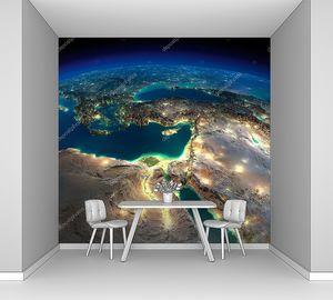Африка и Ближний Восток из Космоса