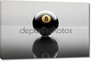 Бильярд мяч