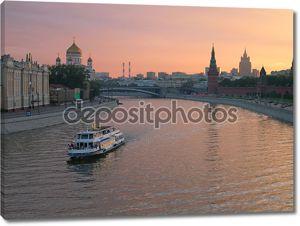 Московский Кремль реки