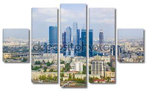 Современные небоскребы в Москве, Россия