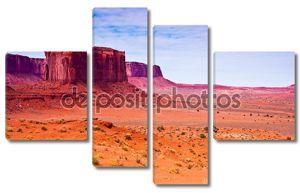 Скальные образования в пустыне