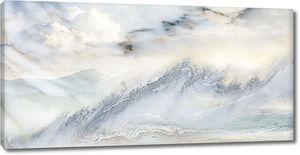 Молочный горный мрамор
