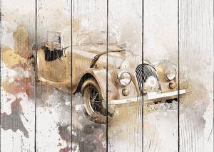 Винтажный ретро-классический старый автомобиль