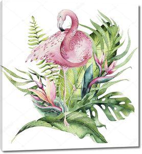 Рисунок тропических птиц