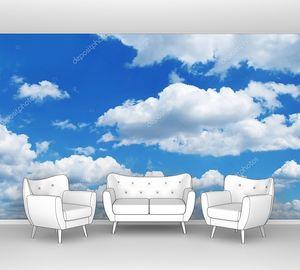 Небесный фон с облаками