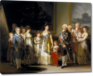 Гойя и Лусиентес Франсиско. Карл IV и его семейство