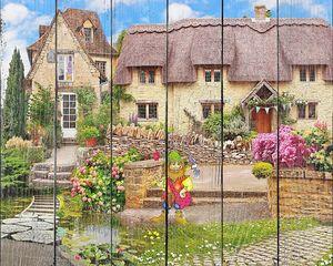 Дома с соломенной крышей