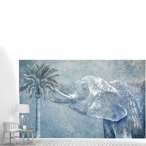 Огромный слон