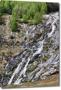 Glenmacnass водопад