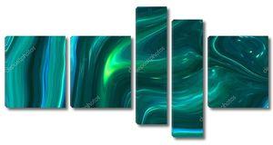 Мраморные чернила красочные. зеленый мрамор текстура картины абстрактный фон. можно использовать для фона или обоев