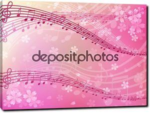 Сакура музыкальный фон