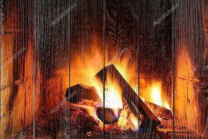 Волшебный дом огонь