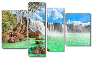 Морские водопады