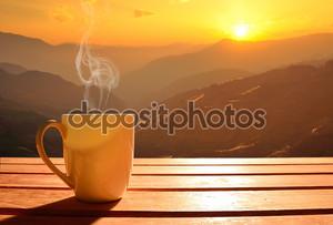 Кофе на восходе солнца