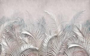 Перья снизу в пастельных тонах