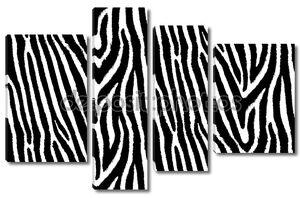 Бесшовный узор из кожи зебры