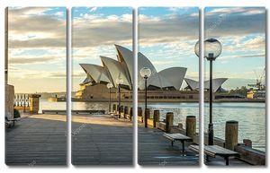 Сиднейская Опера знаковых Сиднея