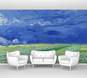 Ван Гог. Пшеничное поле под грозовыми тучами