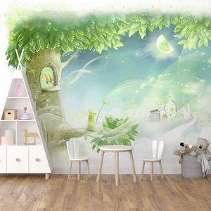 Волшебное дерево с домом внутри