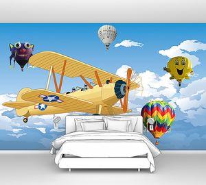 Аэроплан с воздушными шарами