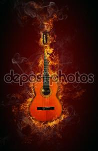 Гитара огня