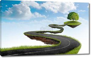 Дорога в дерево