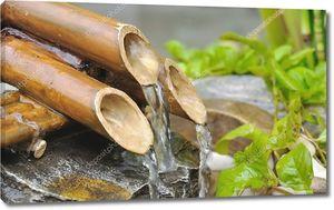 бамбуковый фонтан