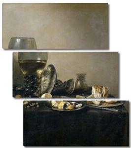 Питер Клас. Натюрморт с посудой