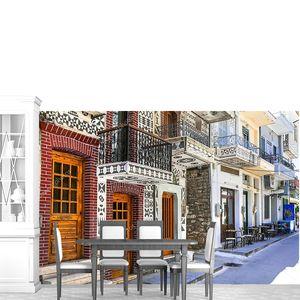 Греческий Пирги на острове Хиос