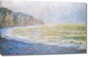 Моне Клод. На скале. 1896