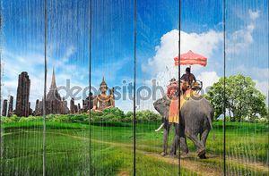 Концепция путешествия Таиланд