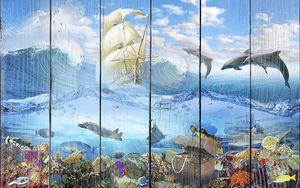 Подводный мир с сокровищами