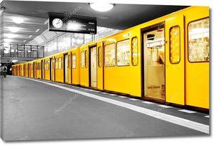 Берлин метро u-bahn