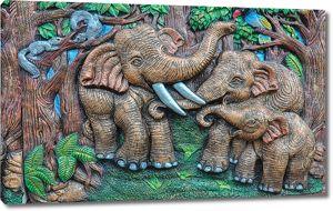 Индийские слоны