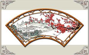 Настенное украшение в китайском стиле